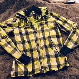Lululemon Foxy Plaid Windbreaker Jacket